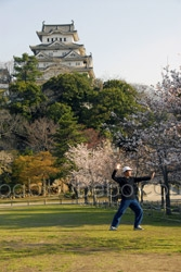 Himeji Castle tai chi 