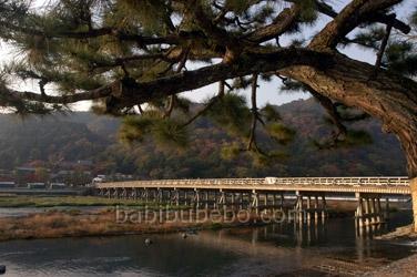 Arashiyama Togetsukyo Bridge Picture Kyoto
