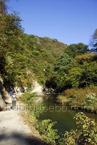 naruko gorge onsen photo