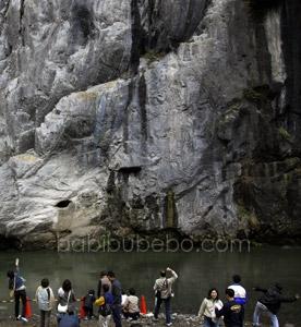 Geibikei Gorge Iwate cliff