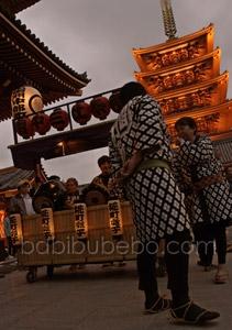 Asakusa festival Tokyo lantern