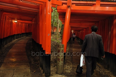 Fushimi Inari Shrine Kyoto Tori Gates