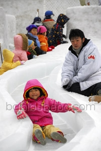 Sapporo Snow Festival Slide