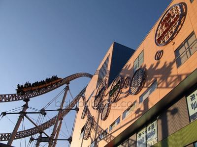 Tokyo Dome roller-coaster