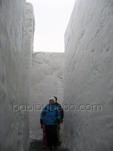 Sapporo Snow Festival Satoland Maze