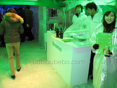 Susukino Ice Festival Hennessey Bar