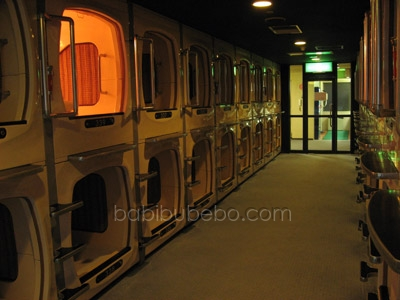 capsule hotel