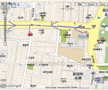 Geisha and Maiko map
