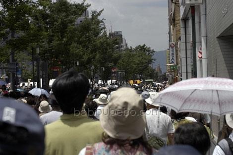Gion Matsuri Crowd